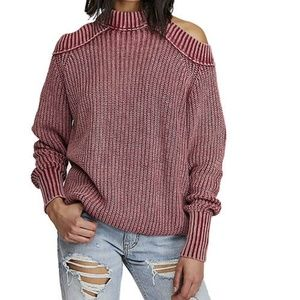 Free People Half Moon Bay Pullover Sweater